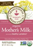 Traditional Medicinals Organic Mother's Milk Super Savings, 16-Count Package (Pack-of-12)