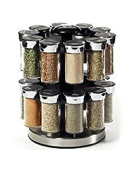 Kamenstein 20 Jar Rotating Spice Rack by Kamenstein