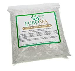 Menthol Crystals Natural Room & Spa Quality Freshener - 100% Pure and Natural from Peppermint 8oz