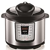 Instant Pot LUX60V3 V3 6 Qt 6-in-1 Muti-Use Programmable Pressure Cooker, Slow Cooker, Rice Cooker, Sauté, Steamer, and Warmer