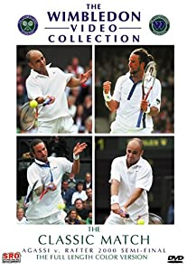 Wimbledon 2000 Semi-Final - Agassi vs. Rafter