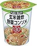 ヘルシーキューピー 玄米雑炊 野菜コンソメ 130kcal (6入り)