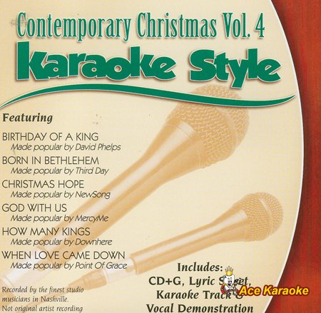 Daywind Karaoke Style: Contemporary Christmas Vol. 4
