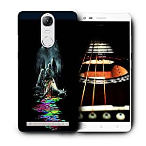 Snoogg Zombiees Eating Horse Designer Protective Back Case Cover For LENOVO K5 VIBE