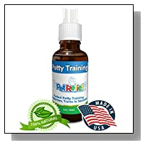 Potty Training For Puppies, Dog & Puppy Potty Training Spray, Urine Repellent, Lifetime Warranty! 30ml Natural Potty Training Aid, Stop Peeing Spray, Piddle Place, No Side Effects! Made USA Pet Relief