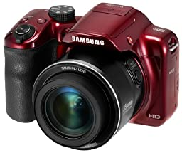 Samsung WB1100F 16.2MP CCD Smart WiFi & NFC Digital Camera with 35x Optical Zoom, 3.0\