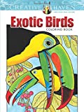 Exotic Birds Coloring Book