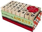 Holzstempel-Set - Stempelset zum Advent