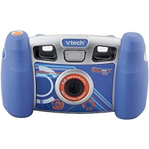 VTech Kidizoom Plus Multimedia Digital Camera (Blue)