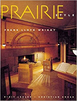 Prairie style houses and gardens by frank lloyd wright for Prairie style house characteristics