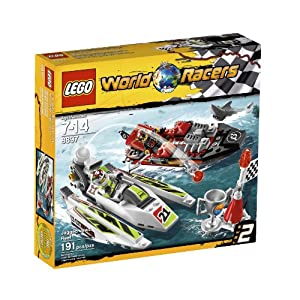 LEGO® World Racers Jagged Jaws Reef 8897