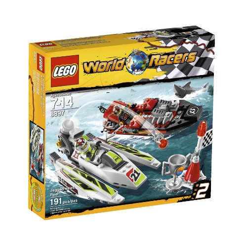 LEGO® World Racers Jagged Jaws Reef 8897 Amazon.com