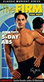 The Firm - Firm Parts: 5-Day Abs (Classic Workout Series) [VHS]