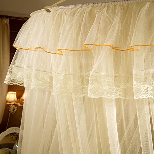 Fgn bed canopy mosquito net for bed canopy bed curtains - Canopy bed curtains for sale ...