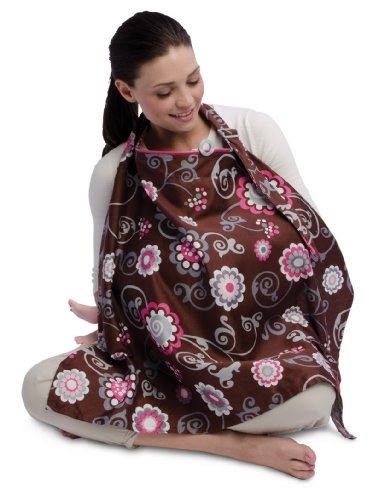 Boppy Nursing Cover, Olivia Floral (769662561242)