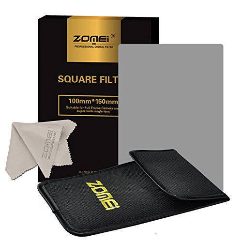 """Zomei Full Grey Neutral Density ND2 Square Z-PRO Series Filter for Cokin Z Lee Hitech 4X4"""" Holder 150*100mm"""