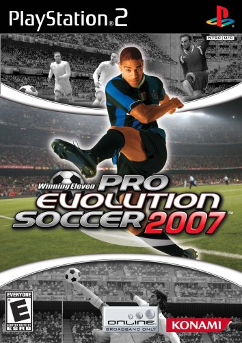 Winning Eleven: Pro Evolution Soccer 2007 - Playstation 2 front-306547