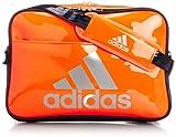 [アディダス] adidas エナメル ショルダーL Z7679 F92319 (ソーラーゼスト/カレッジネイビー/テックグレーメット S14)