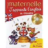 J'apprends l'anglais en chansons : 3-6 ans (1CD audio)par Joanna Le May