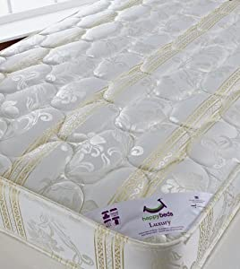 Luxury 3ft Single size mattress by Happy Beds