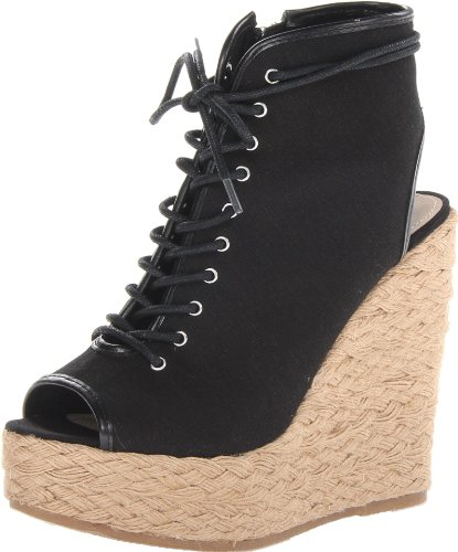 Steve Madden Women'S Holiday Espadrille Sandal,Black,10 M Us front-1038916