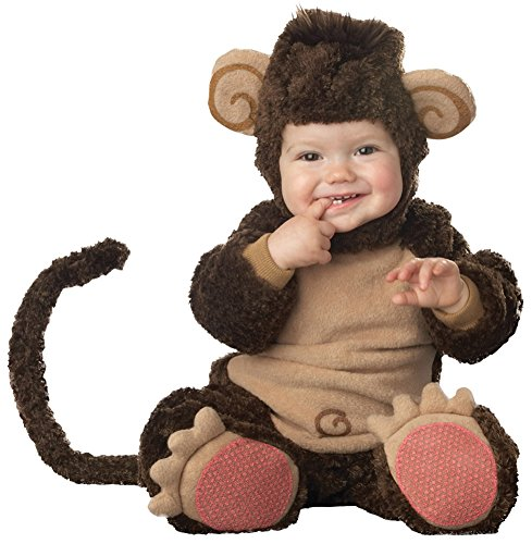 Baby-boys - Lil Monkey Lil Character Toddler Costume 18M-2