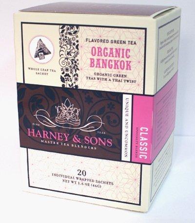 Harney & Sons Fine Teas Organic Bangkok - 20 Wrapped Sachets