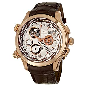 Zenith Class Traveller Open Multicity Men's Automatic Watch 18-0520-4046-02-C682