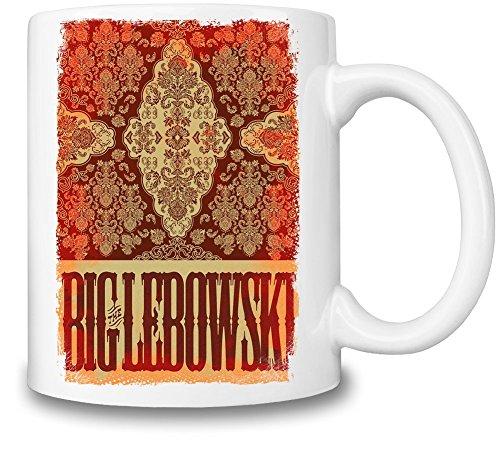 The Big Lebowski Tazza Coffee Mug Ceramic Coffee Tea Beverage Kitchen Mugs By Slick Stuff