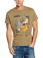 Pepe Jeans London Camiseta Manga Corta Iridium (Camel)