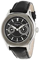 Salvatore Ferragamo Men's FQ1070013 Lungarno Stainless Steel Automatic Sub-Seconds Date Watch from Salvatore Ferragamo