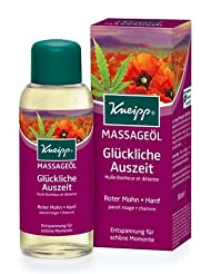 Kneipp Glückliche Auszeit Happy Time Out Huile de massage 100ml