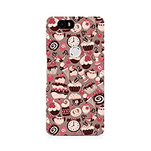 Ebby Sweet Tooth Premium Printed Case For Huawei Nexus 6P