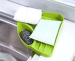 Futaba Kitchen Sink Corner Storage Rack Sponge Holde