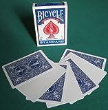 BICYCLE(バイスクル) ブランクフェイス 青 トリックカード マジック