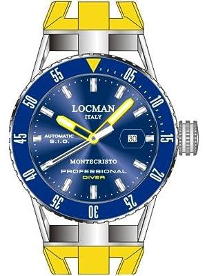 Locman Montecristo Professional Divers' Automatic by Locman Italy