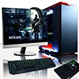 Vibox Revolution Package 12 - 4.4GHz Intel i7, Extreme, High Spec, Water Cooled, Desktop Gaming PC Computer with 27