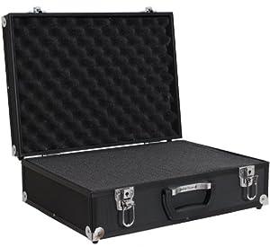 Brubaker - Valise Photo - Semi professionnelle - Entièrement Modulable en aluminium noir