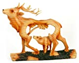 Unison Gifts MME-305 Medium Animal Woodlike Carving - Elk