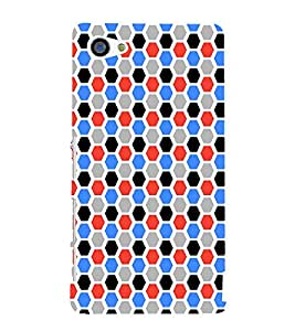 EPICCASE octagon Mobile Back Case Cover For Sony Xperia Z5 Mini / Z5 Compact (Designer Case)