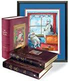 The Complete Far Side Leather-Bound Set [Signed Limited Edition] Gary Larson and Steve Martin
