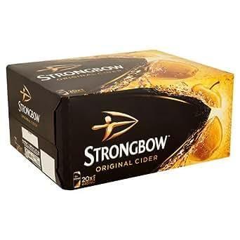 Original Strongbow Cider 20x 440ml MULTIPACK