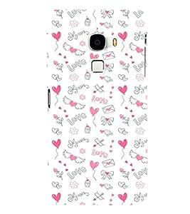 EPICCASE Lovely pattern Mobile Back Case Cover For LeTV Le Max (Designer Case)
