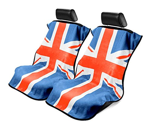 Seat Armour - Towel Seat Covers with RWB British Flag -Pair (British Flag Car Seat Covers compare prices)