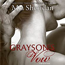 Grayson's Vow Audiobook by Mia Sheridan Narrated by Maxine Mitchell, Joe Arden