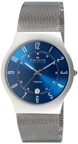Skagen Gents Titanium Watch - 233XLTTN