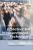 img - for Effective HR Measurement Techniques book / textbook / text book
