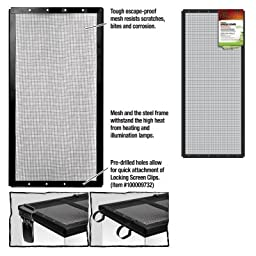 ENERGY SAVERS UNLIMITED,INC. - SCREEN COVER METAL BLK 30X12 -