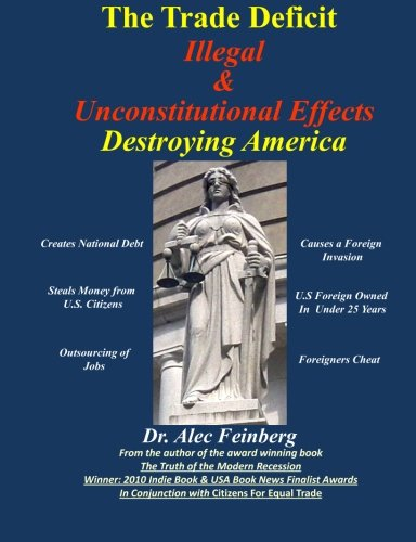 The Trade Deficit Illegal & Unconstitutional Effects Destroying America