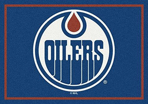 Edmonton Oilers NHL Spirit Team Area Rug 2'8